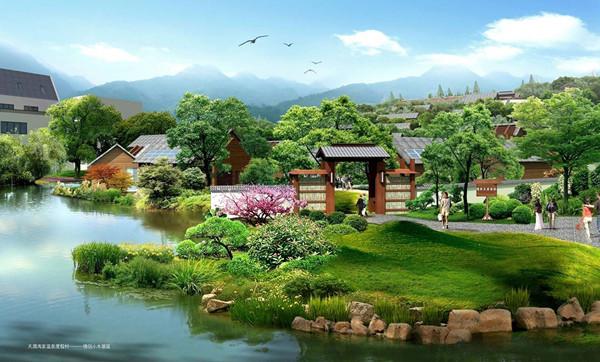 山东威海天润冯家温泉度假村景观